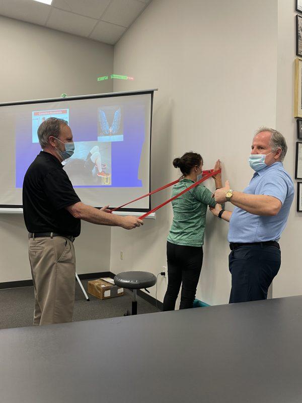 Kevin Wilk teaching class